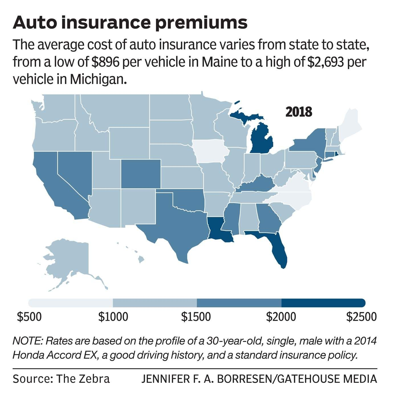 The Auto Insurance Game Data Show Moving From One Neighborhood To