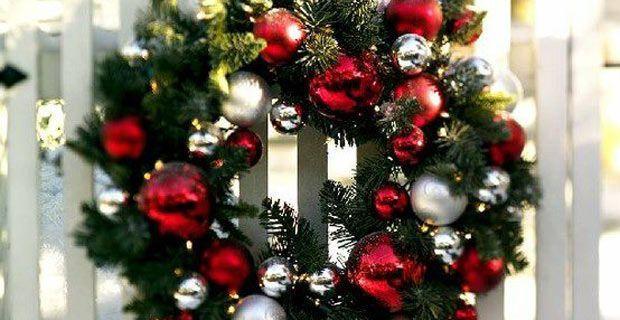 Weihnachtsdekoration: Ideen für den Außenbereich #dekoeingangsbereichaussen