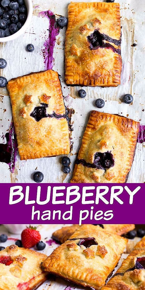 Photo of Mini Blueberry Hand Pies (and Strawberry, too!) | Dessert for Two