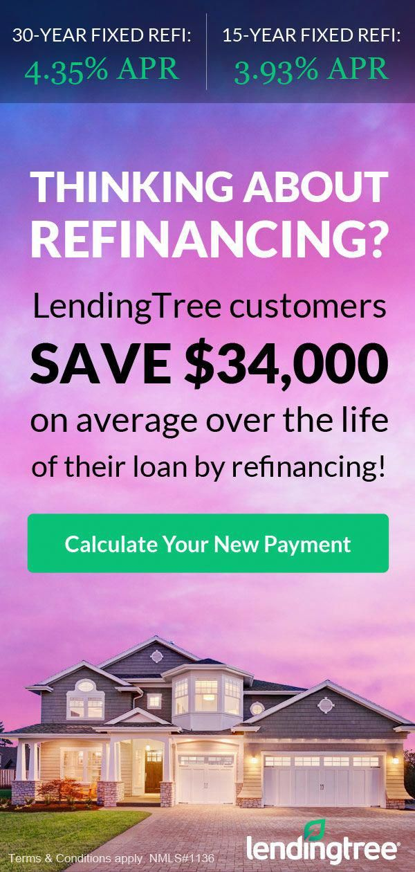 Thinking about refinancing? Click to calculate your new payment