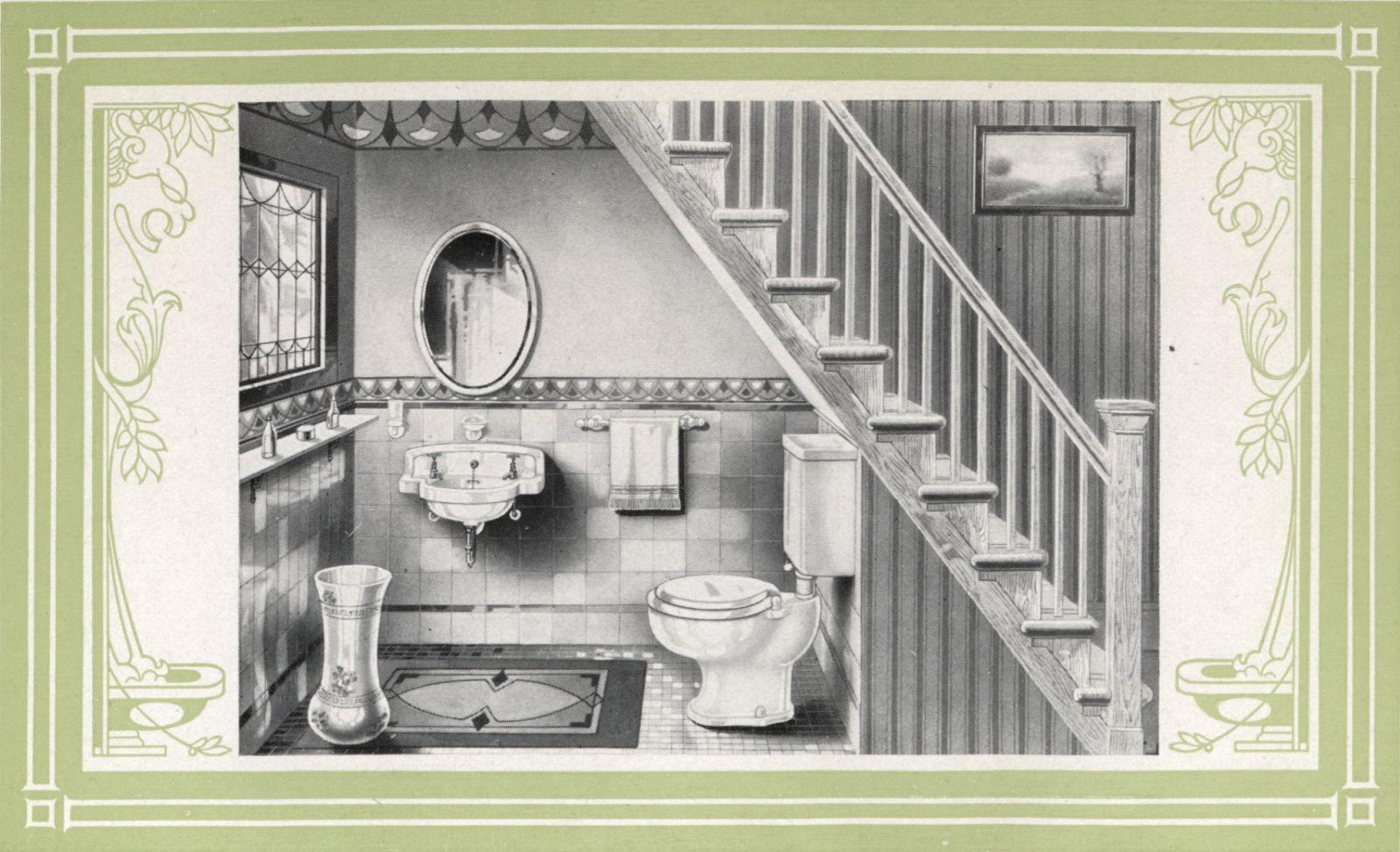 Laurelhurst Craftsman Bungalow: Trenton 1922 Bathroom Catalog ...