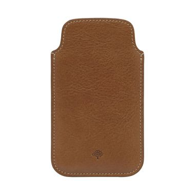 The Mulberry sale continues…although not for long! Sale ends Sunday - Mulberry iPhone 5 Cover in Oak Natural Leather