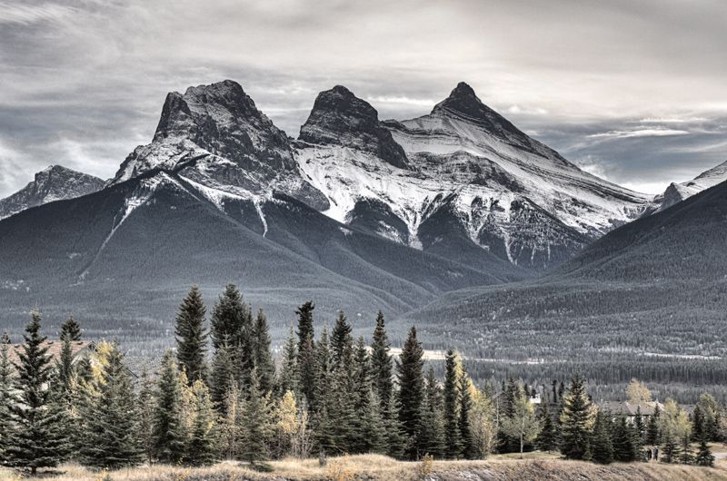 Banff revisited mountain landscape three sister