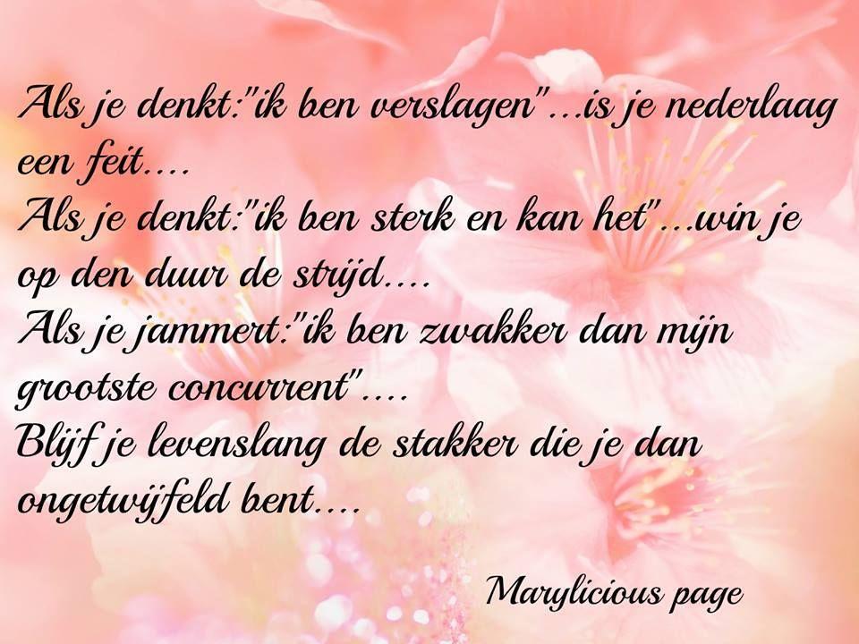 Facebook Marylicious page spreuken en gedichten