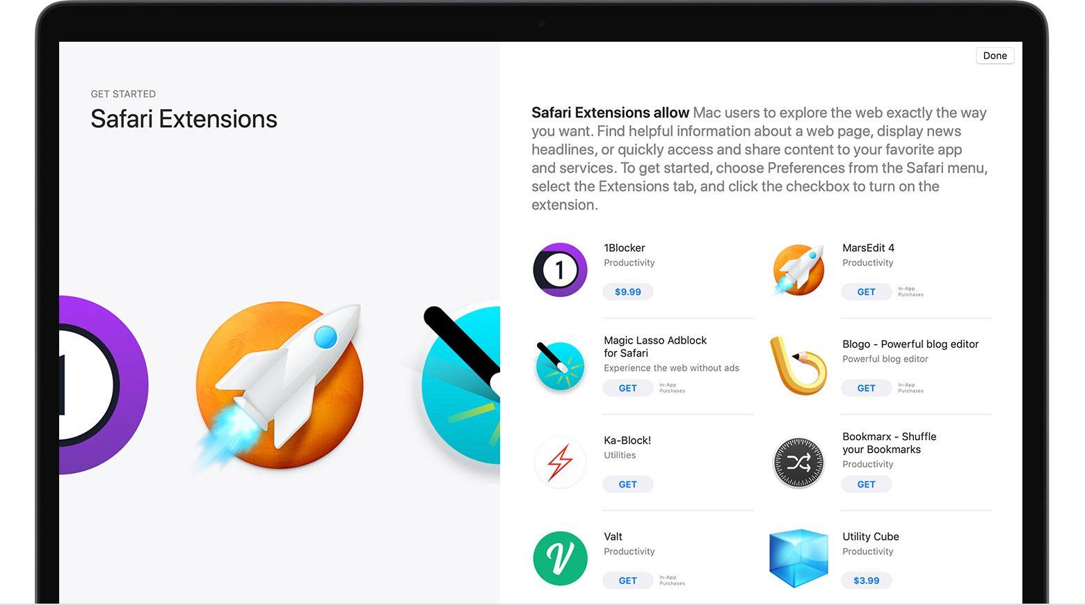Install Safari Extensions