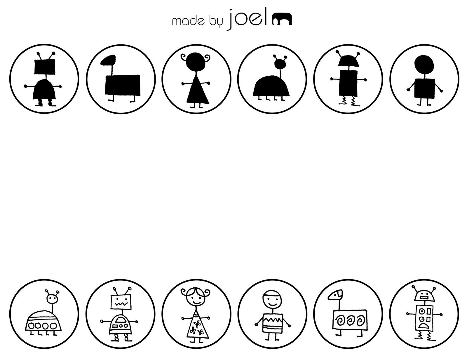 Made by Joel - Shape Match free critical thinking worksheets
