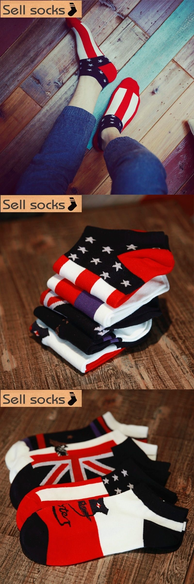 d86e14f13 new summer Union Jack Owl Flag man Casual ankle cotton socks men boat sock  slippers harajuku