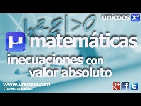 Inecuacion valor absoluto 02 SECUNDARIA (4ºESO) matematicas - YouTube