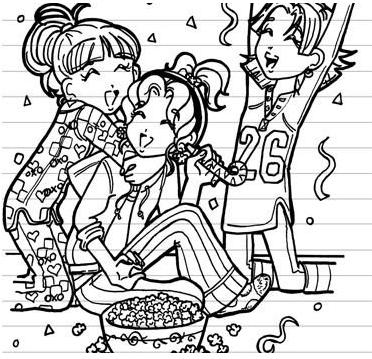 Dork Diary Coloring Pages In 2020 Dork Diaries Dork Diaries Characters Dork Diaries Books
