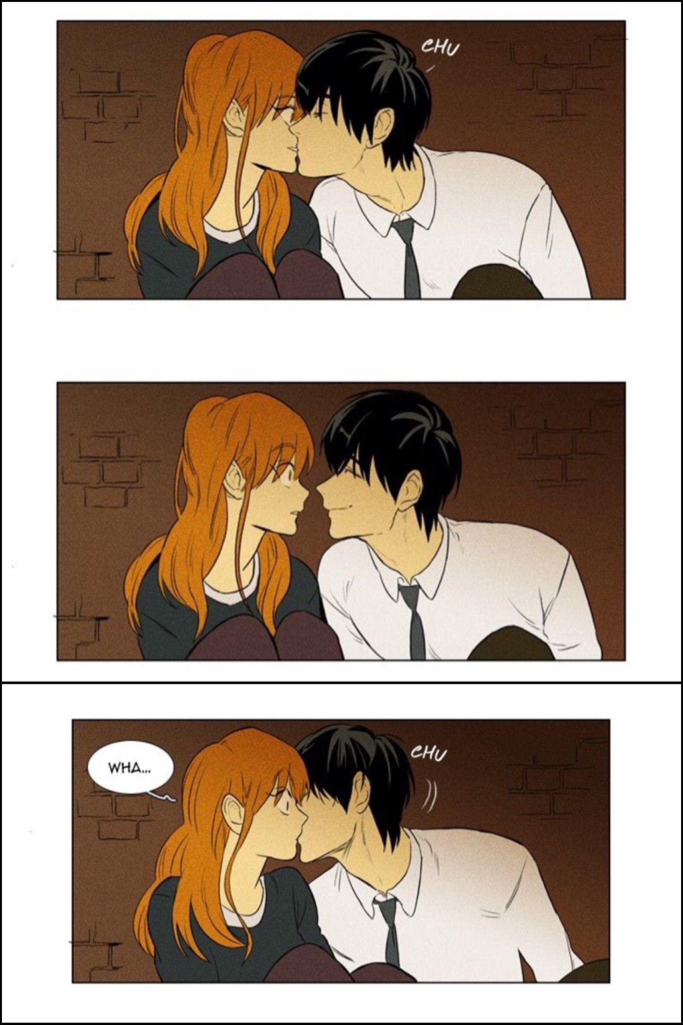 CheeseInTheTrap drunk kiss | Manga | Cheese in the trap, Cheese in