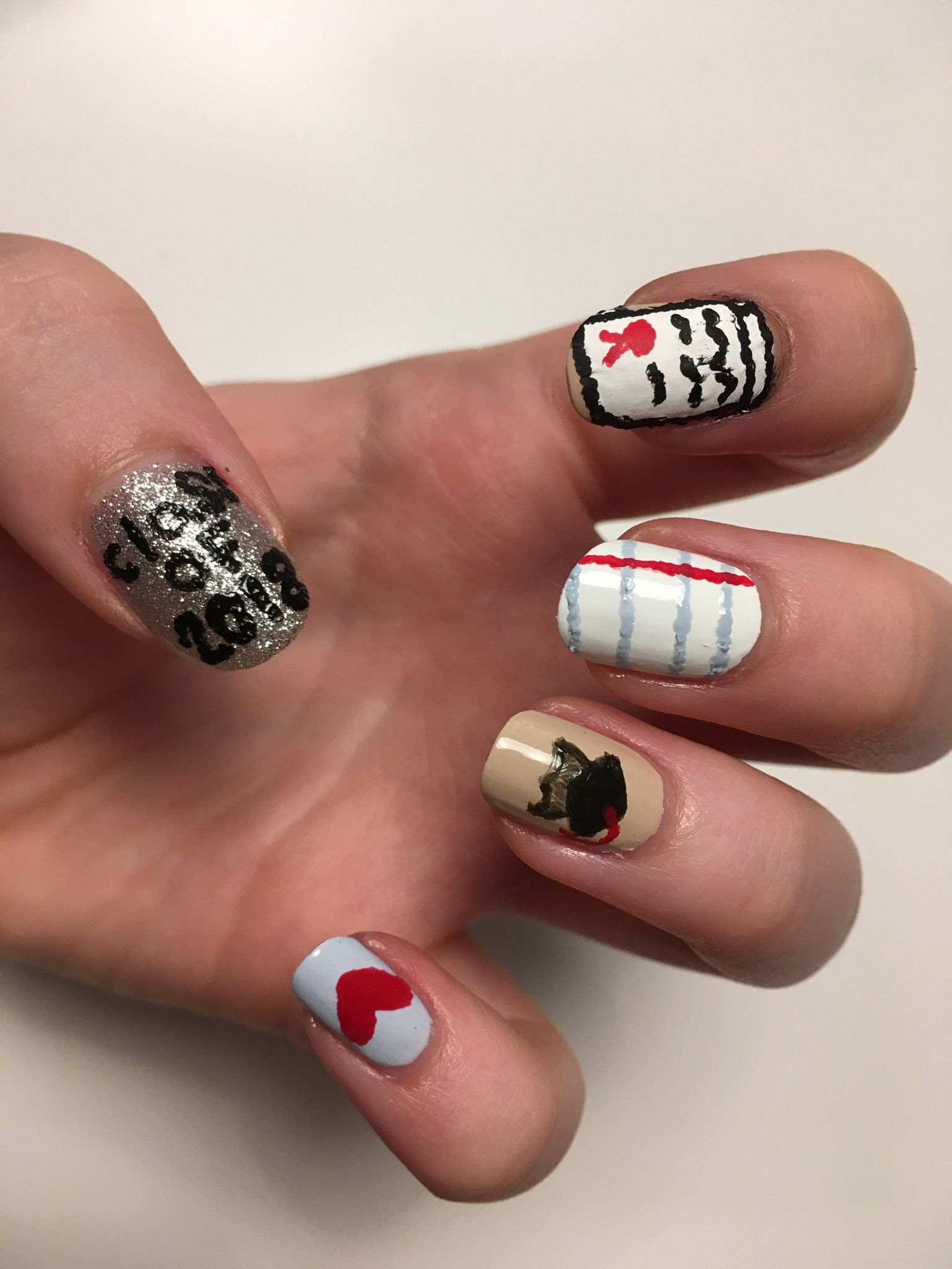 48 Awesome Gel Nail Art Designs Trend In 2019 | Gel nail