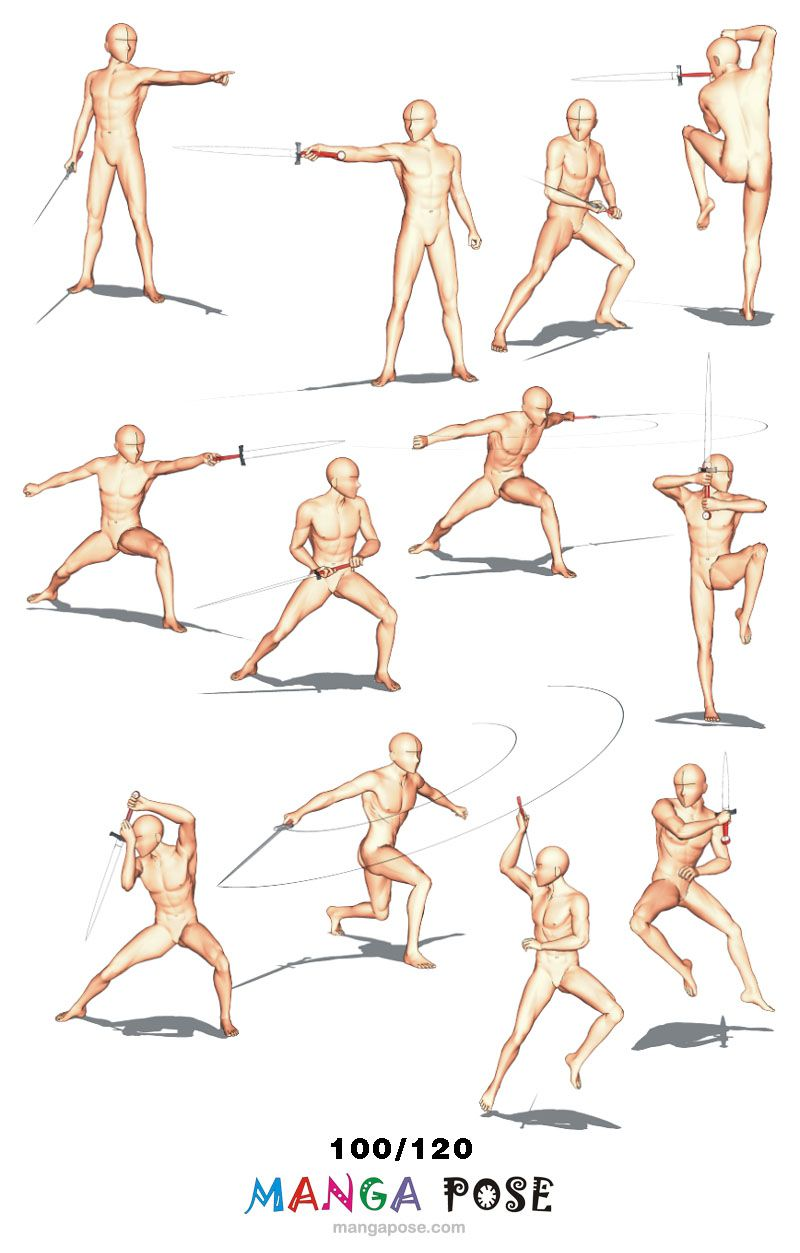 Mangapose COM - 120 images | Drawing in 2019 | Art reference poses
