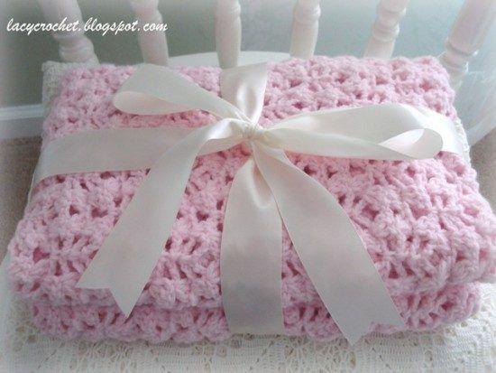 Vintage Crochet Baby Blanket Patterns Pinterest Crochet Baby