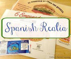 Using Realia in a Language Classroom
