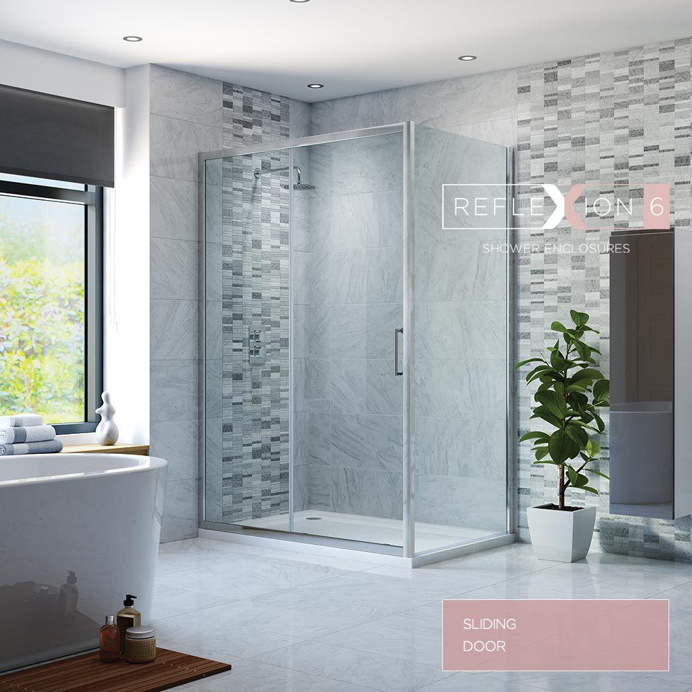 Reflexion Shower Enclosures Shower Enclosure Power Shower Sliding Doors