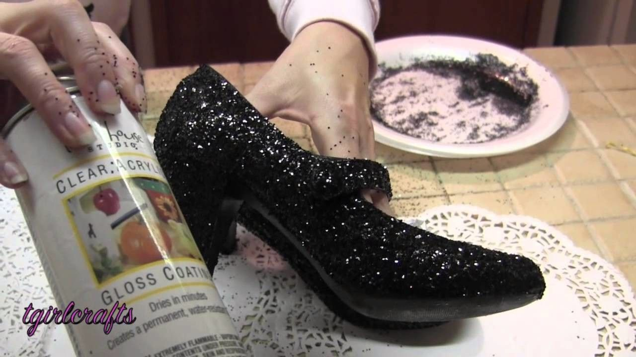 For The Love of Shoes! / Glitter Converse | Clothes/DIY