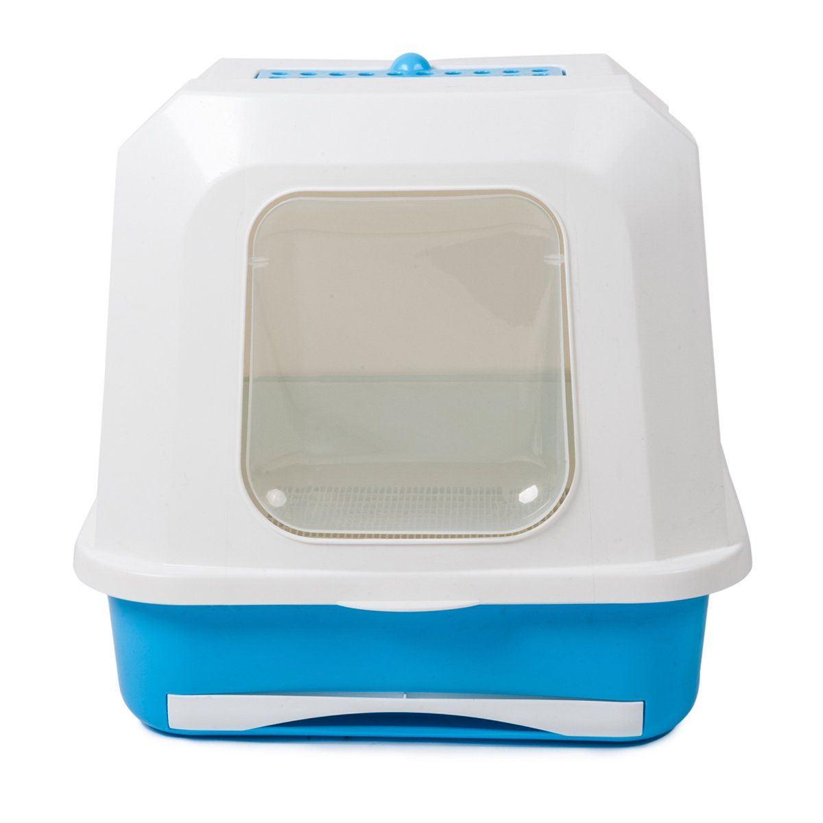 Favorite Enclosed Large Easy Clean White Covered Cat Litter Box Pan With Drawer Check Out This Great Product This Litter Box Cats Cleaning