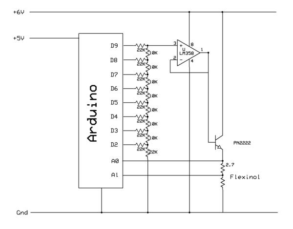 Precision Flexinol Position Control Using Arduino | Capacitors ...
