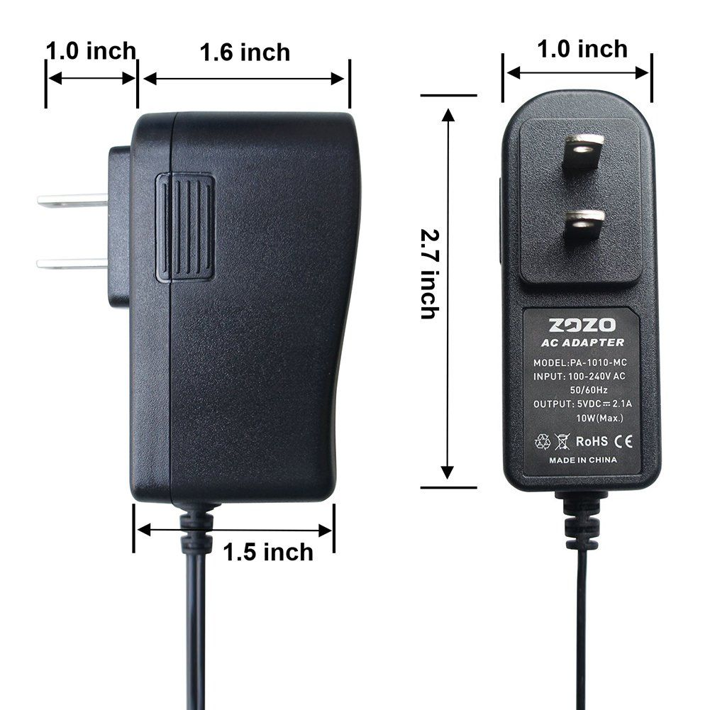 5V 2A 10W Tablet AC Adapter charger for