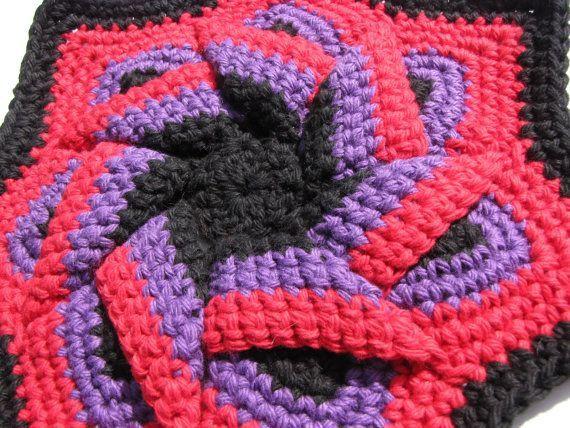 Double Thick Diagonal Crochet Potholder Pattern Httpsknitting