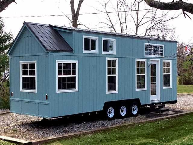 Miraculous Upper Mohawk Point Tiny House With Main Floor Bedroom Tiny Interior Design Ideas Clesiryabchikinfo