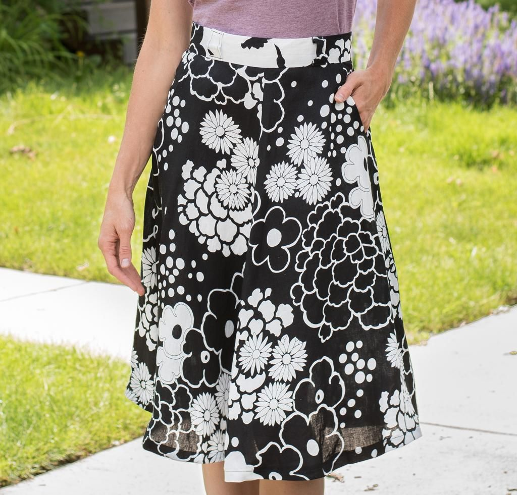 Sewaholic Hollyburn Skirt Kit -