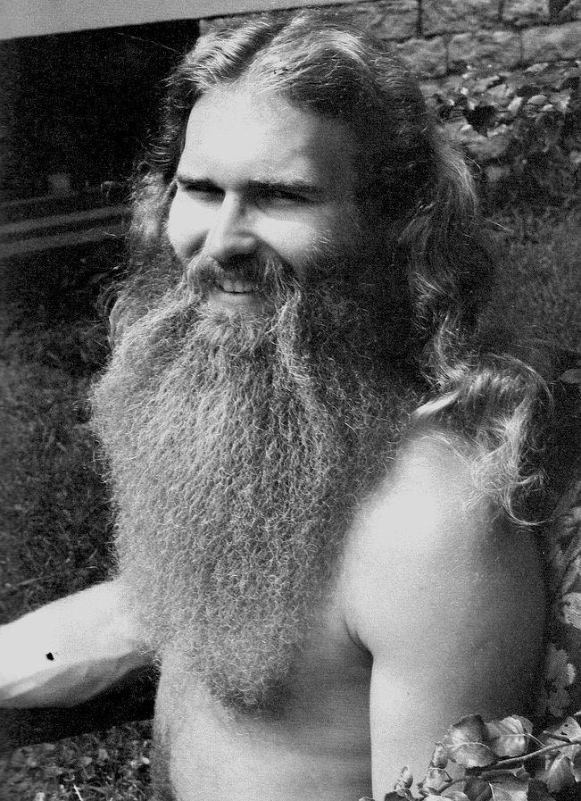 1970s Biker Beard Long Hair Beard Huge Beard Beard No Mustache