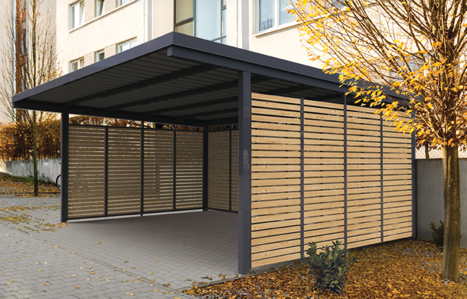 Carport Metall Carport aus Metall von Gerhardt Braun