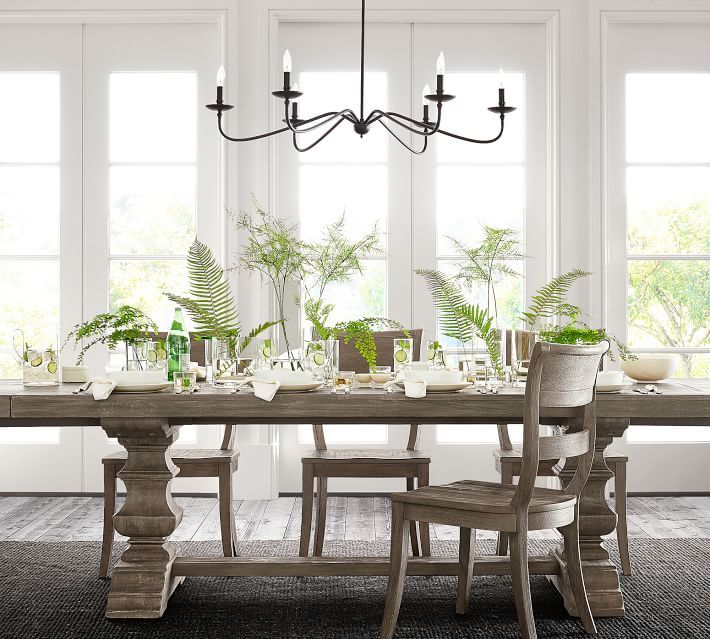 Lucca Chandelier Pottery Barn In 2020 Dining Room
