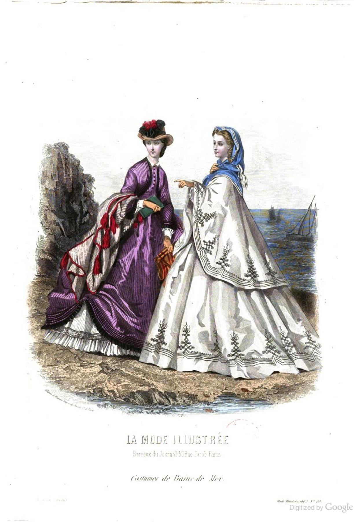 1863 Jul La Mode illustrée