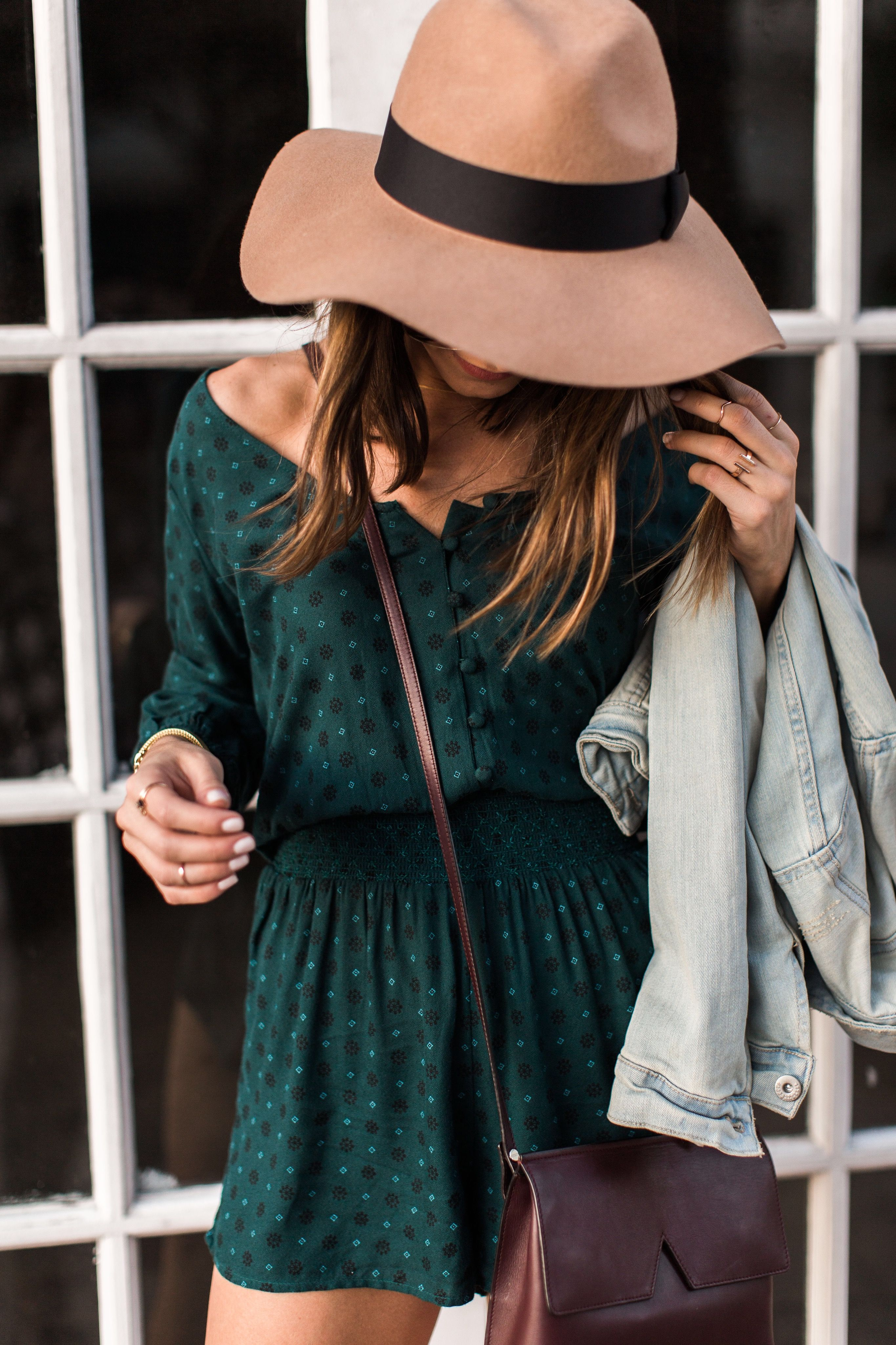 Stephanie from @thestylebungalow styled our Smocked romper! Check out the blog at blog.ae.com to see her #AEOSTYLE inspiration