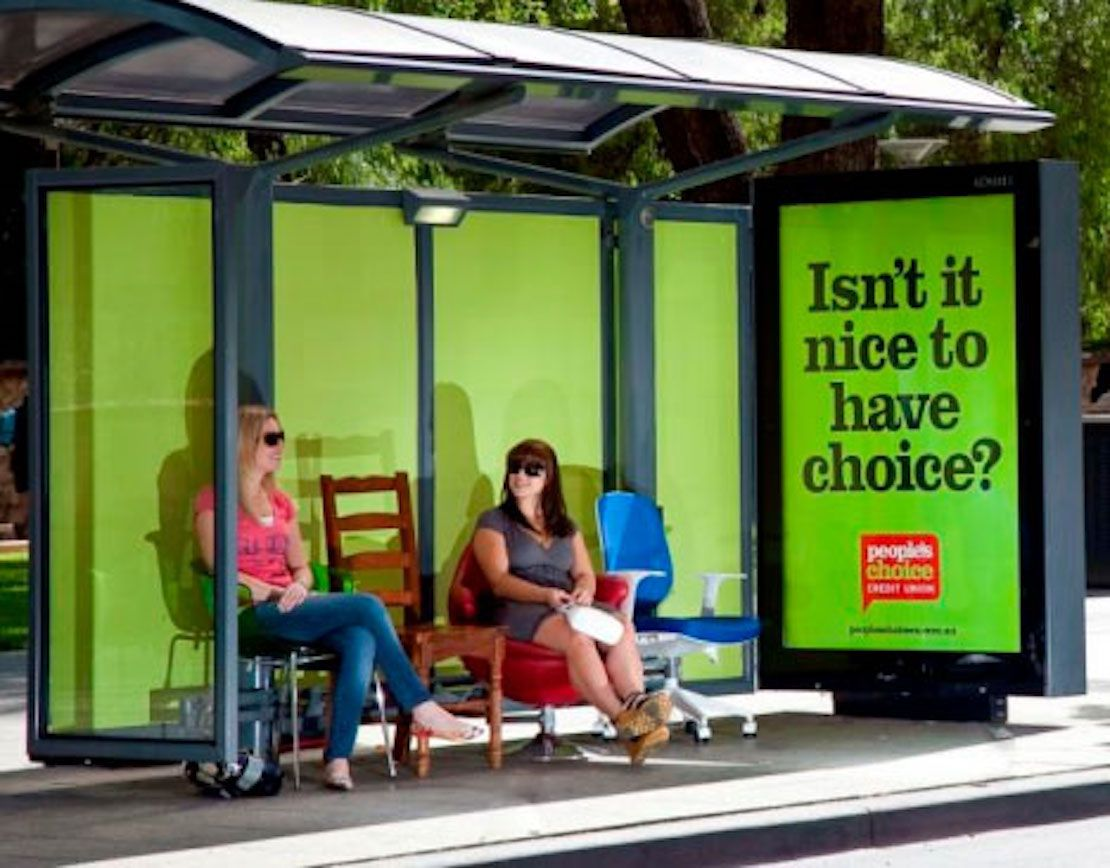 48 Fresh And Creative Bus Stop Advertisements That Will Blow Your