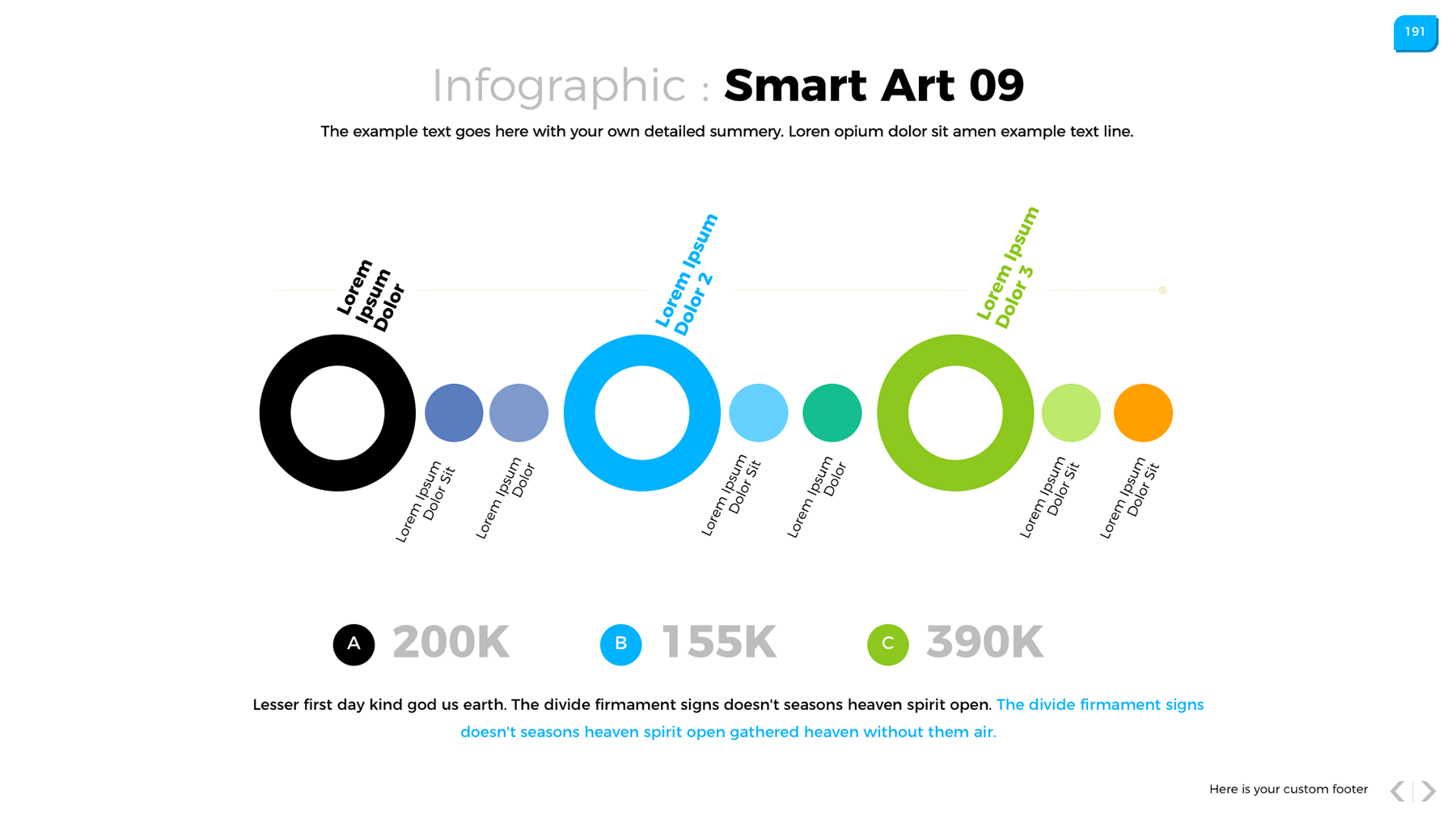 Data Powerpoint Infographic System Infographic
