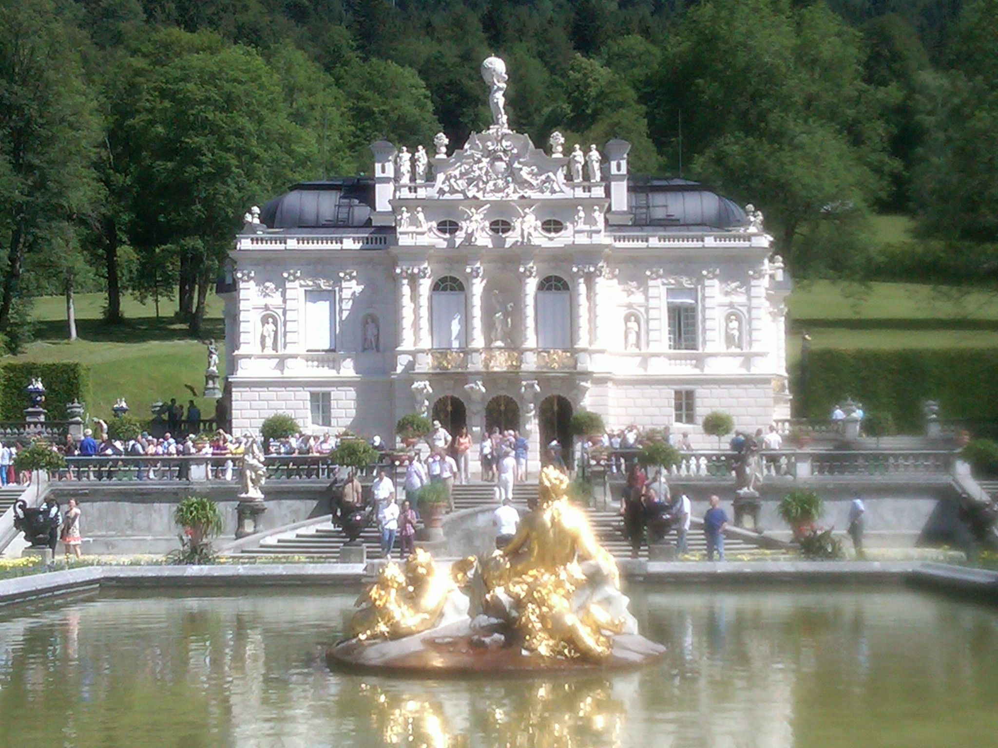 King Ludwig Of Bavaria S Linderhof Castle It Was A Gorgeous Summer Day Travel Around The World Travel Memories Travel Around