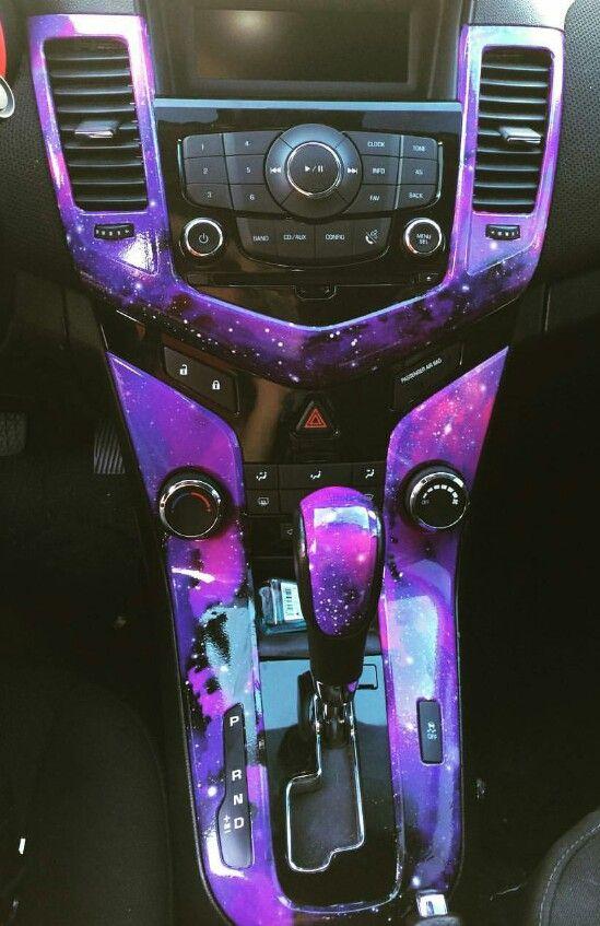 Galaxy wrapped | Car Info | Car interior accessories, Car