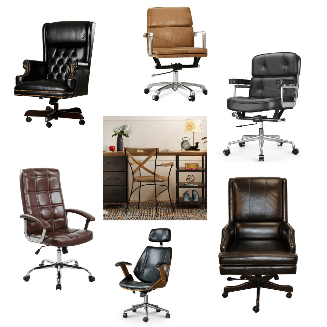Masculine Office Shopping Guide Contemporary Office Chairs