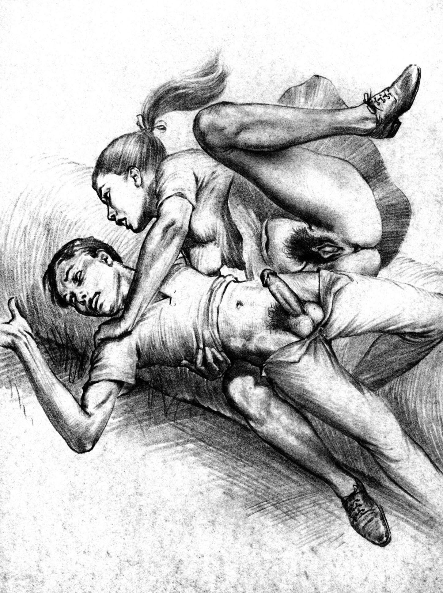 Старого порно порно рисунки галерея девушку