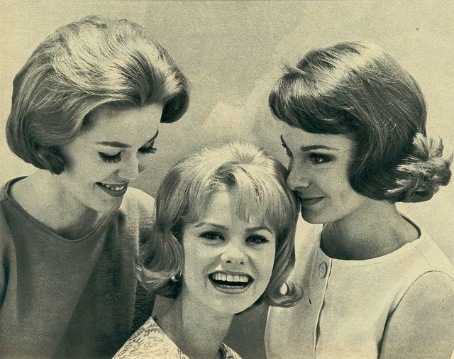 Vintage Hair Styles For Short Hair: 1960s Hair, 1960s And Hair Style