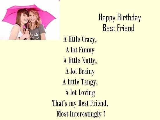 Happy Birthday Best Friend Free Happy Birthday eCards Greeting – Quotes for Best Friends Birthday Cards