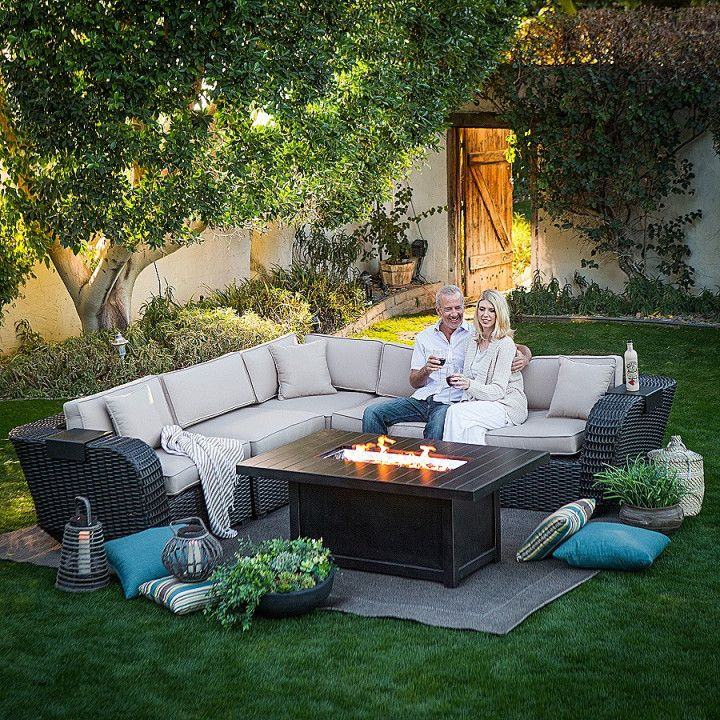 Patio Glow Fire Pit Table Costco