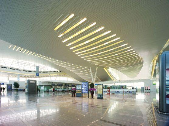 hangzhou xiaoshan airport - phase 2 - hunter douglas architectural