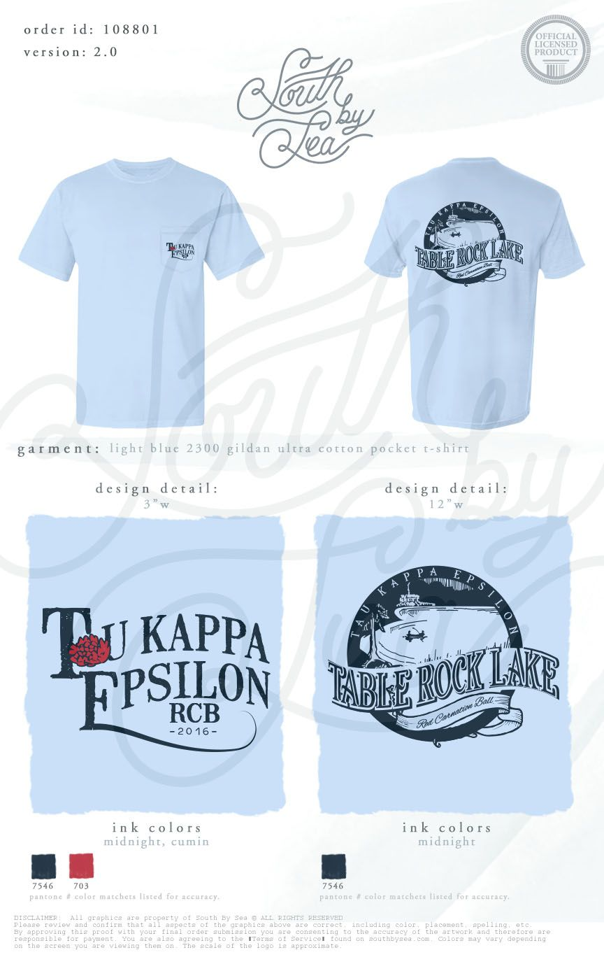 Tau Kappa Epsilon | Table Rock Lake | Brotherhood T-Shirt