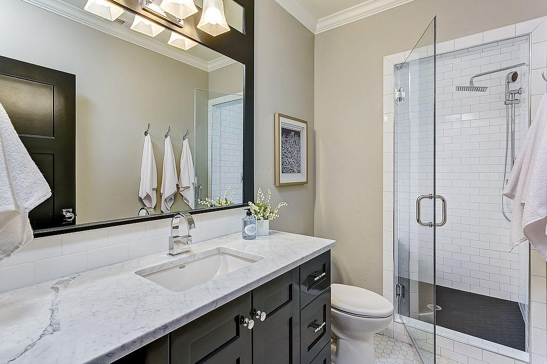 Basement Bath with Steam Shower | Diy countertops ...