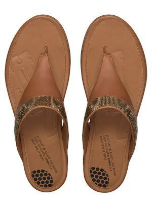 267e7d2bd813 FitFlop™ - Women s Banda™ Micro-Crystal Toe-Post Sandals