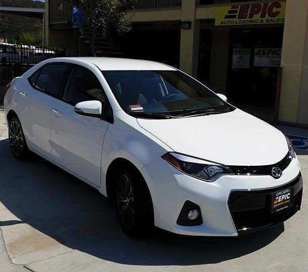 Lease A Toyota Corolla: Congratulations On Your Brand New 2016 Toyota Corolla S