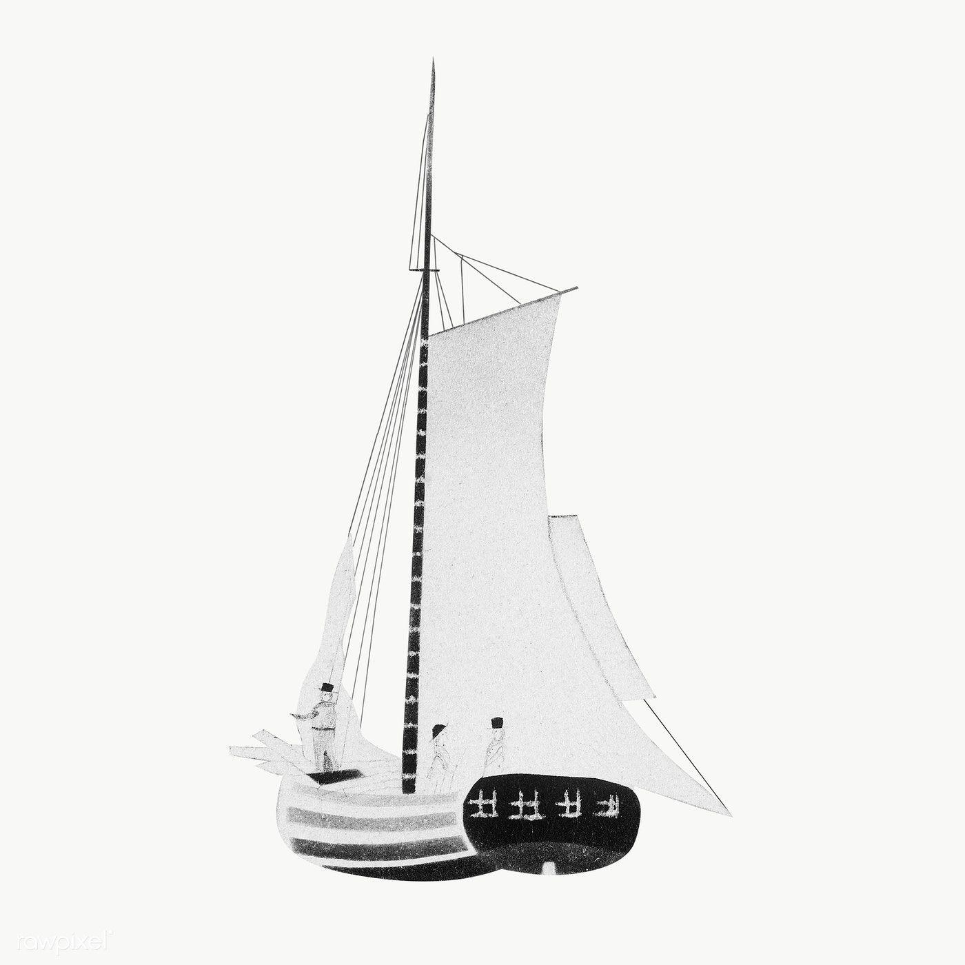 A Sailboat Vintage Illustration Transparent Png Premium Image By Rawpixel Com Donlaya Vintage Illustration Boat Illustration Vintage