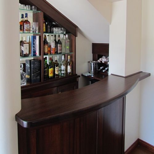 Bar Under Stairs Google Search Home Bar Designs Basement Bar | Bar Under Stairs Design | Stair Storage | Basement Remodeling | Floating Shelves | Space | Escaleras