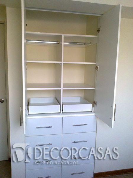 closet para Bebe 8 cajones  repisas rebatibles  colgadores  y 2 plataformas y maletera  Roperos Empotrados  Ropero para bebe Closet para