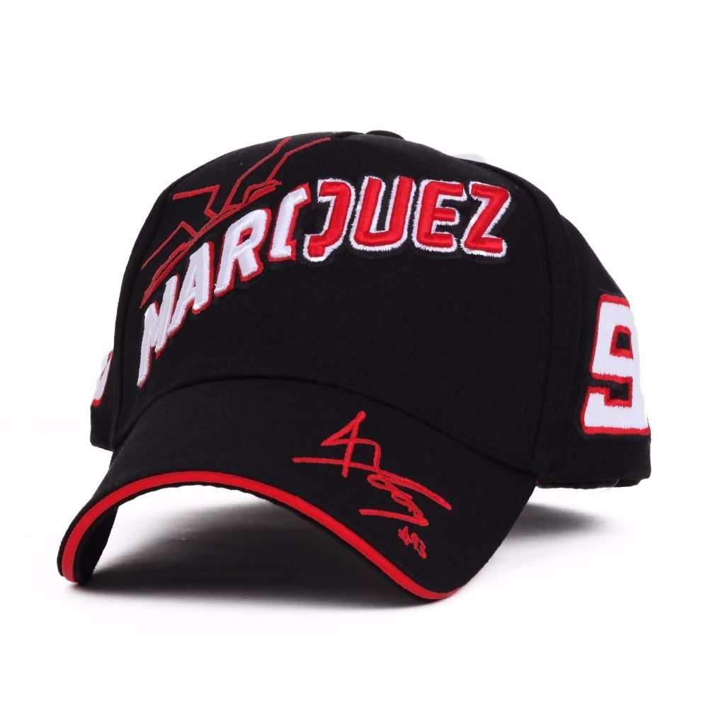 Hot 2017 The Official MOTO GP Marc Marquez 93 Cap Baseball Cap Gorra Sport  Hat Motocross Racing Cap Adjustable Strap snapback d2baf97a733a