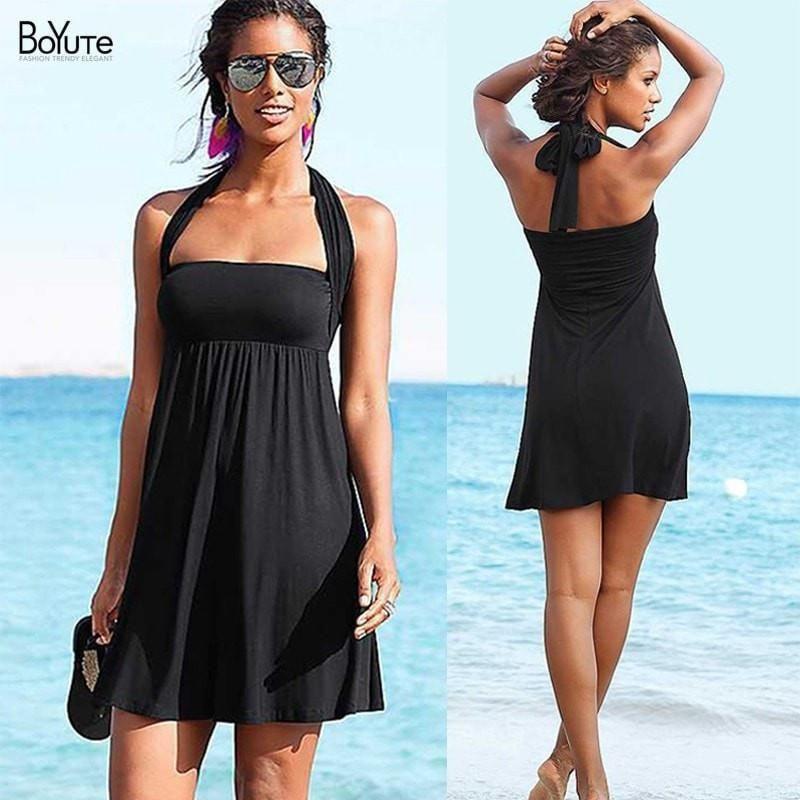 Multi Wear Women Summer Beach Dress